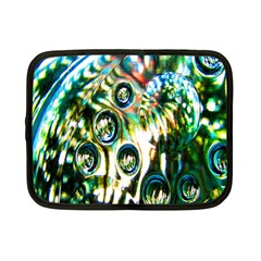 Dark Abstract Bubbles Netbook Case (Small)