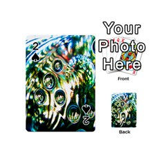 Dark Abstract Bubbles Playing Cards 54 (Mini)