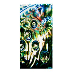Dark Abstract Bubbles Shower Curtain 36  x 72  (Stall)