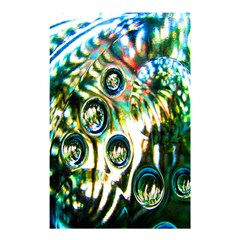 Dark Abstract Bubbles Shower Curtain 48  x 72  (Small)