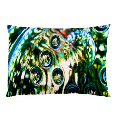 Dark Abstract Bubbles Pillow Case (Two Sides)