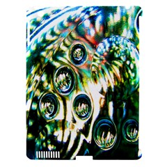 Dark Abstract Bubbles Apple Ipad 3/4 Hardshell Case (compatible With Smart Cover)
