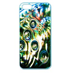 Dark Abstract Bubbles Apple Seamless iPhone 5 Case (Color)
