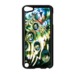 Dark Abstract Bubbles Apple iPod Touch 5 Case (Black)