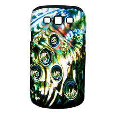 Dark Abstract Bubbles Samsung Galaxy S III Classic Hardshell Case (PC+Silicone)