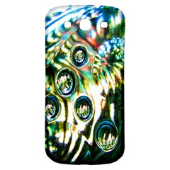 Dark Abstract Bubbles Samsung Galaxy S3 S III Classic Hardshell Back Case