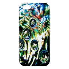 Dark Abstract Bubbles Apple iPhone 5 Premium Hardshell Case