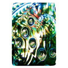 Dark Abstract Bubbles Flap Covers (S)