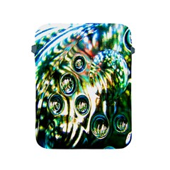 Dark Abstract Bubbles Apple Ipad 2/3/4 Protective Soft Cases