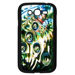 Dark Abstract Bubbles Samsung Galaxy Grand DUOS I9082 Case (Black)