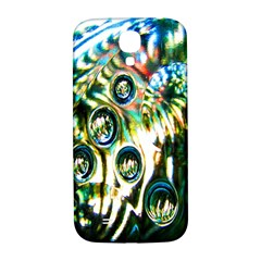 Dark Abstract Bubbles Samsung Galaxy S4 I9500/I9505  Hardshell Back Case