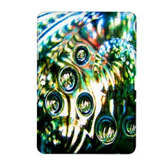 Dark Abstract Bubbles Samsung Galaxy Tab 2 (10 1 ) P5100 Hardshell Case