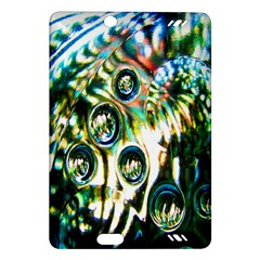 Dark Abstract Bubbles Amazon Kindle Fire HD (2013) Hardshell Case