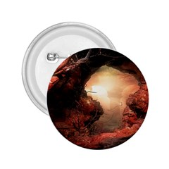 3d Illustration Of A Mysterious Place 2.25  Buttons