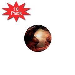 3d Illustration Of A Mysterious Place 1  Mini Magnet (10 pack)