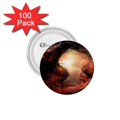 3d Illustration Of A Mysterious Place 1.75  Buttons (100 pack)