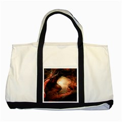 3d Illustration Of A Mysterious Place Two Tone Tote Bag