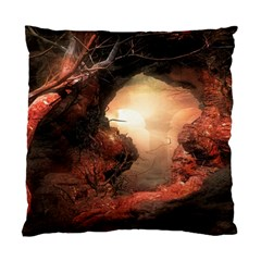 3d Illustration Of A Mysterious Place Standard Cushion Case (One Side)
