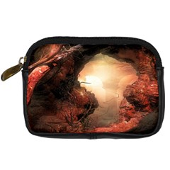 3d Illustration Of A Mysterious Place Digital Camera Cases