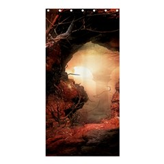 3d Illustration Of A Mysterious Place Shower Curtain 36  x 72  (Stall)