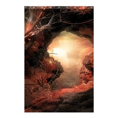 3d Illustration Of A Mysterious Place Shower Curtain 48  X 72  (small)