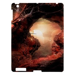3d Illustration Of A Mysterious Place Apple Ipad 3/4 Hardshell Case