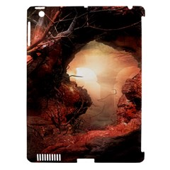 3d Illustration Of A Mysterious Place Apple iPad 3/4 Hardshell Case (Compatible with Smart Cover)