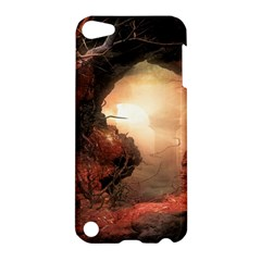 3d Illustration Of A Mysterious Place Apple iPod Touch 5 Hardshell Case