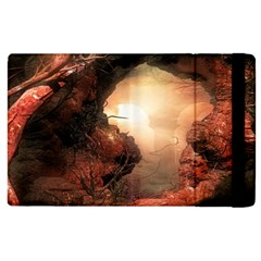 3d Illustration Of A Mysterious Place Apple Ipad 2 Flip Case