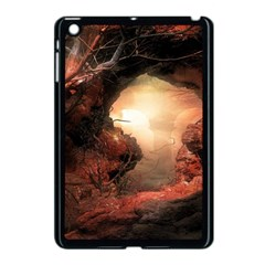 3d Illustration Of A Mysterious Place Apple Ipad Mini Case (black)