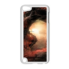 3d Illustration Of A Mysterious Place Apple iPod Touch 5 Case (White)