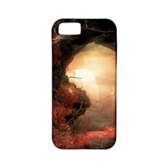 3d Illustration Of A Mysterious Place Apple Iphone 5 Classic Hardshell Case (pc+silicone)