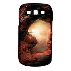 3d Illustration Of A Mysterious Place Samsung Galaxy S Iii Classic Hardshell Case (pc+silicone)