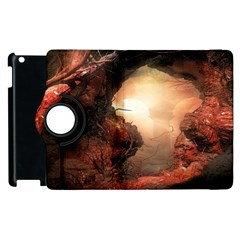3d Illustration Of A Mysterious Place Apple Ipad 3/4 Flip 360 Case