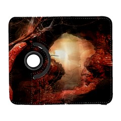 3d Illustration Of A Mysterious Place Galaxy S3 (flip/folio)