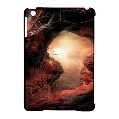 3d Illustration Of A Mysterious Place Apple iPad Mini Hardshell Case (Compatible with Smart Cover)