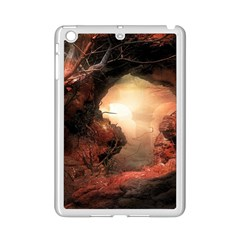3d Illustration Of A Mysterious Place Ipad Mini 2 Enamel Coated Cases