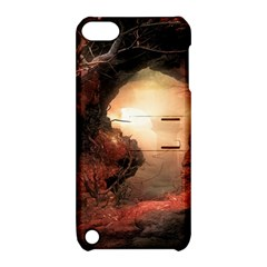 3d Illustration Of A Mysterious Place Apple Ipod Touch 5 Hardshell Case With Stand