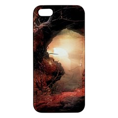 3d Illustration Of A Mysterious Place Apple Iphone 5 Premium Hardshell Case