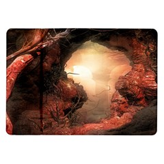 3d Illustration Of A Mysterious Place Samsung Galaxy Tab 10.1  P7500 Flip Case