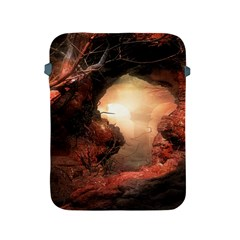 3d Illustration Of A Mysterious Place Apple Ipad 2/3/4 Protective Soft Cases