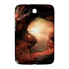 3d Illustration Of A Mysterious Place Samsung Galaxy Note 8 0 N5100 Hardshell Case