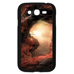 3d Illustration Of A Mysterious Place Samsung Galaxy Grand Duos I9082 Case (black)