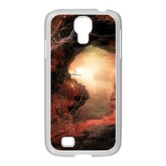 3d Illustration Of A Mysterious Place Samsung GALAXY S4 I9500/ I9505 Case (White)