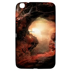 3d Illustration Of A Mysterious Place Samsung Galaxy Tab 3 (8 ) T3100 Hardshell Case