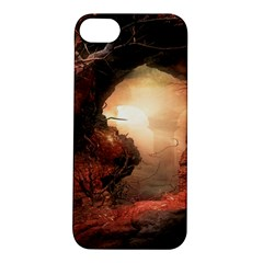3d Illustration Of A Mysterious Place Apple Iphone 5s/ Se Hardshell Case