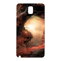 3d Illustration Of A Mysterious Place Samsung Galaxy Note 3 N9005 Hardshell Back Case