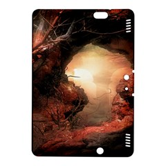 3d Illustration Of A Mysterious Place Kindle Fire Hdx 8 9  Hardshell Case