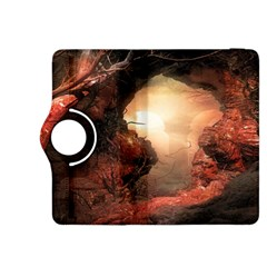 3d Illustration Of A Mysterious Place Kindle Fire HDX 8.9  Flip 360 Case