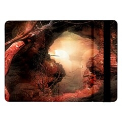 3d Illustration Of A Mysterious Place Samsung Galaxy Tab Pro 12.2  Flip Case
